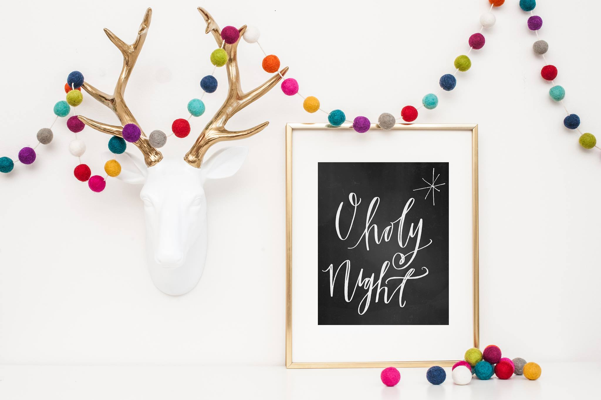 "Free Printable-Story + Table ""O Holy Night"""