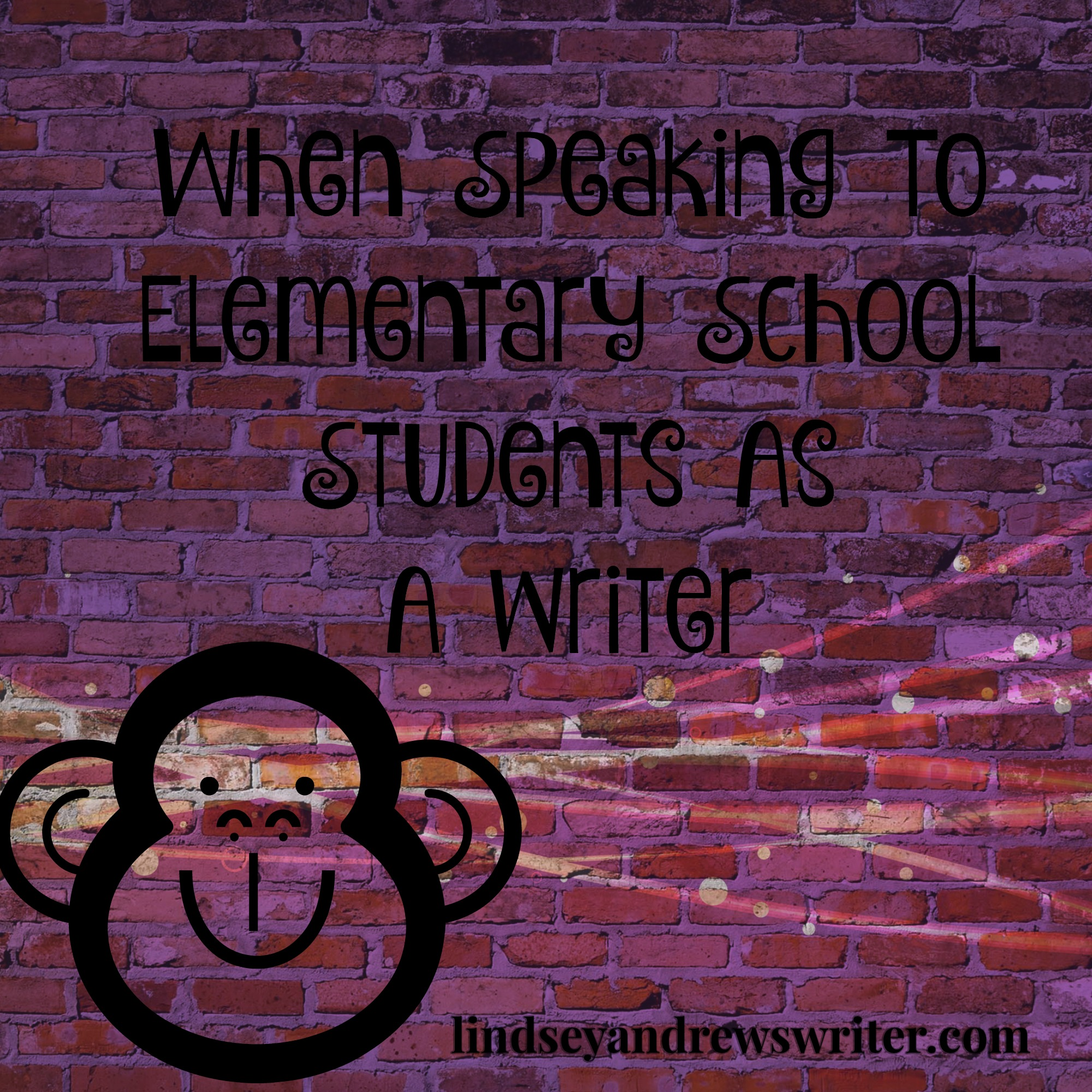 When Speaking To Elementary Students