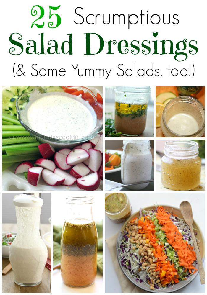 25 Homemade Salad Dressing Recipes