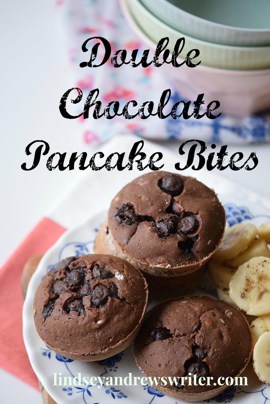 Easy Breakfast – Double Chocolate Pancake Bites