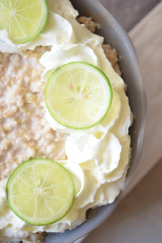Key Lime Pie Breakfast Oatmeal