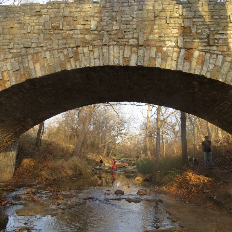 old bridge over running water - find your park