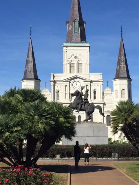 St Louis cathedral in New Orleans - New Orleans with kids