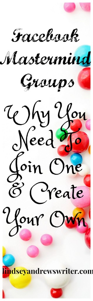 Colorful gumballs on white background - Facebook Mastermind Groups