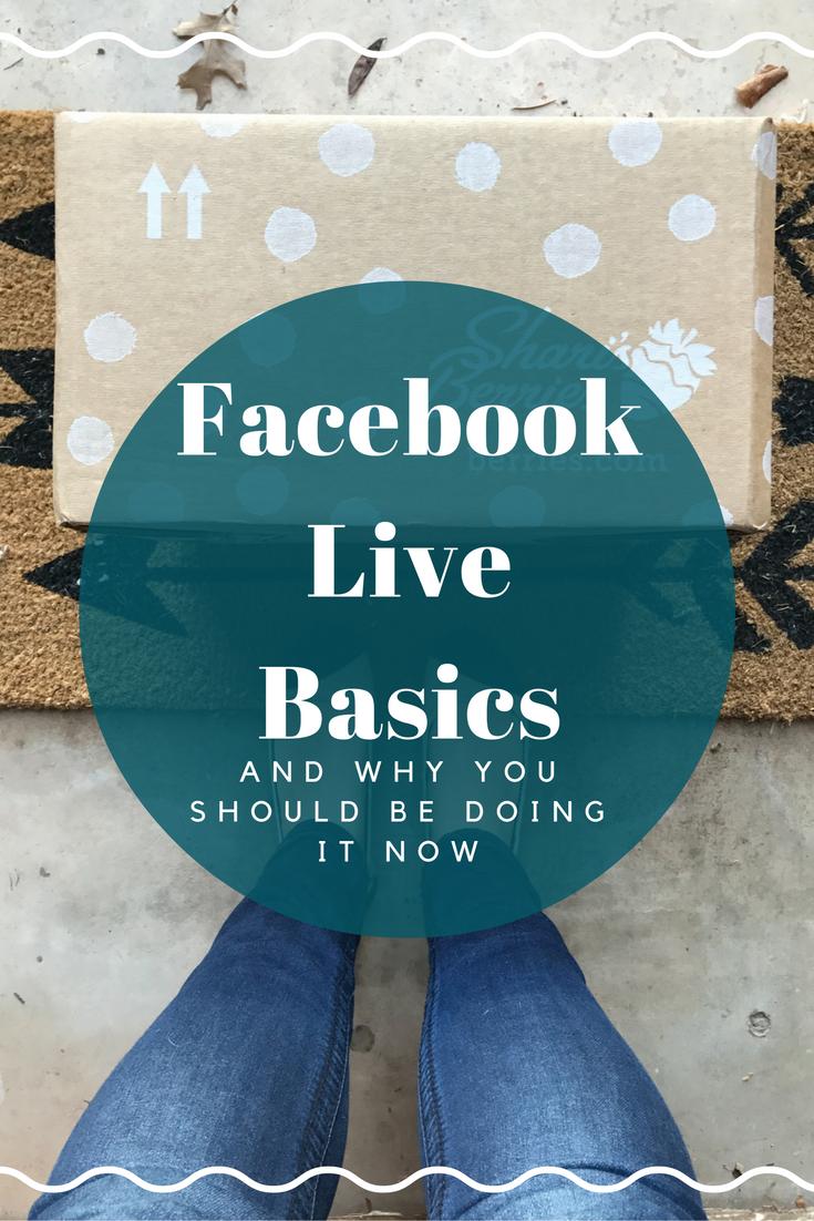 Facebook Live Basics