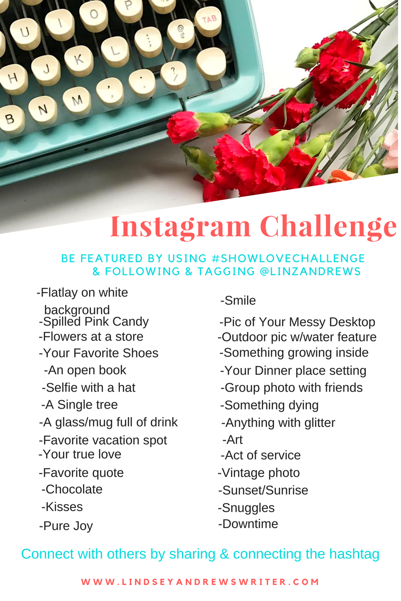 30 Day Instagram Challenge – February