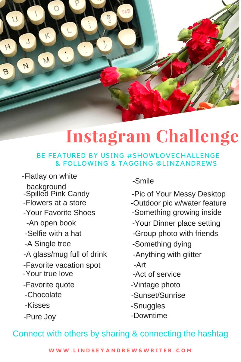 30 Day Instagram Challenge – February