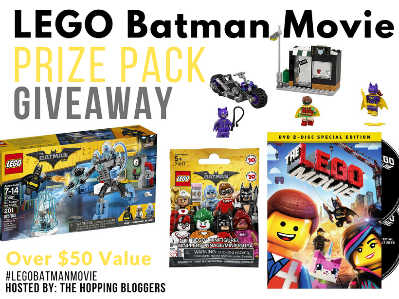 Lego Batman Movie Prize Pack Giveaway