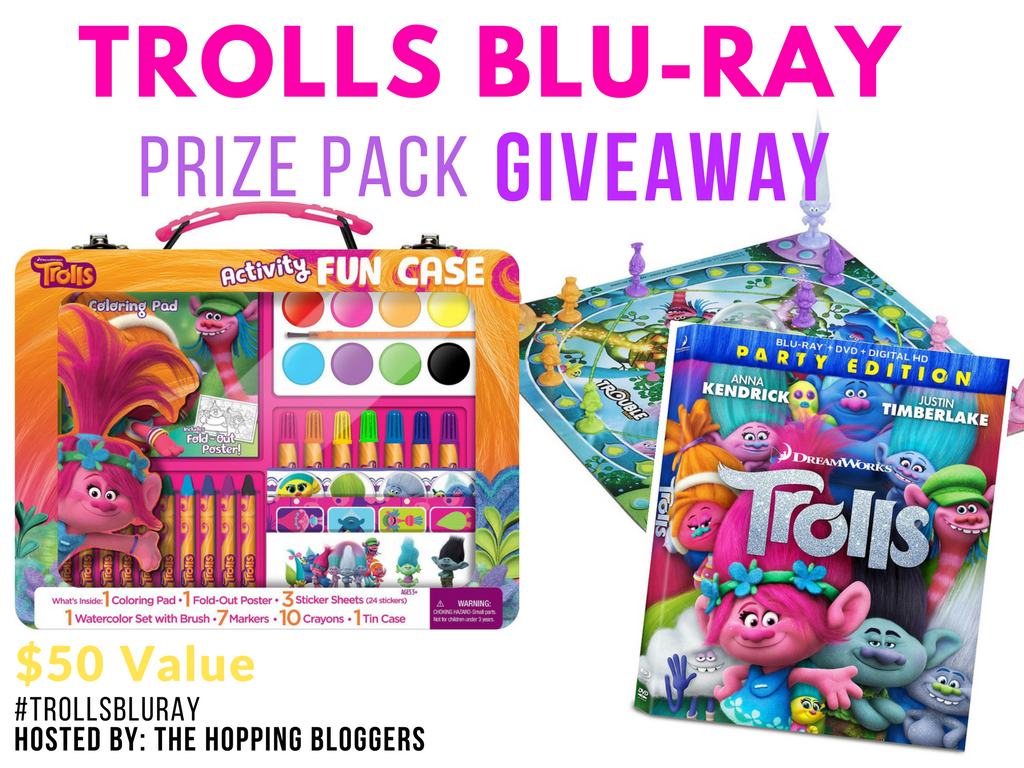 Trolls Prize Pack Giveaway