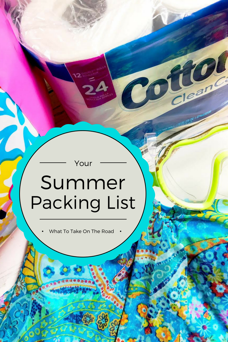 Summer Packing List With Cottonelle