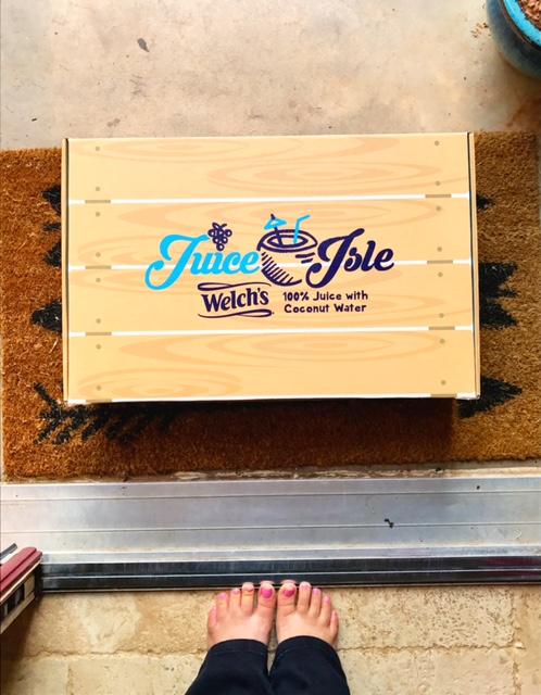 box on doorstep - NaNoWriMo preparation