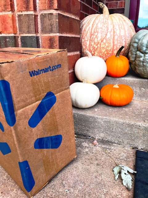 shipping box on front porch - walmart.com