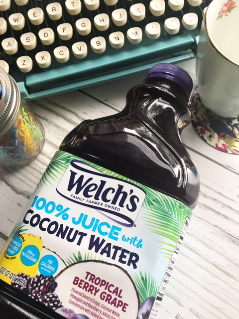 welch's juice bottle - NaNoWriMo preparation