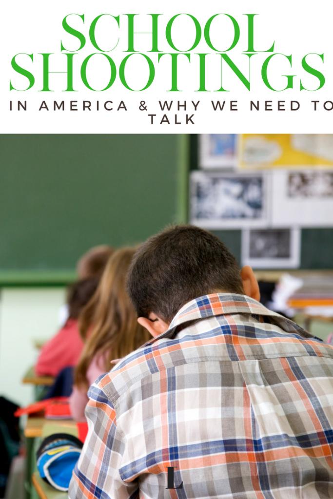 classroom in America - school shootings